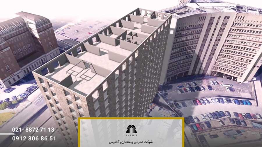 نقشه عمرانی ساختمان